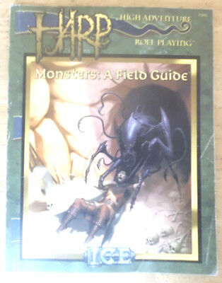 High Adventure Roleplaying, HARP, Monsters: A Field Guide, ICE 3002