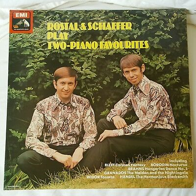 ROSTAL & SCHAEFFER Play Two-Piano Favourites (EMI LP 1976)