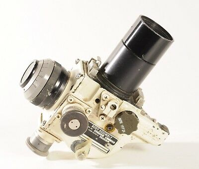 Vintage Movie Camera Body Assembly with Lens