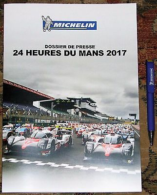 Le Mans 24 Hours 2017 Michelin Press Kit & Pen