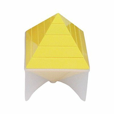 Forchtenberger Rainbow Pyramid Toy Yellow