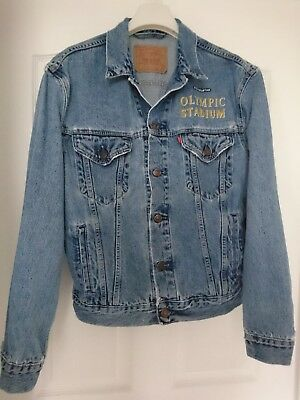 Metallica Olympic Stadium Stockholm Sweden 1993 Denim Crew Jacket size Large