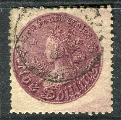 AUSTRALIA  NEW SOUTH WALES 1861-80s early classic QV 5s. used value