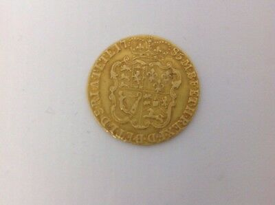 Gold Guinea Full Shield George 3rd 1785