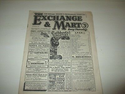 THE EXCHANGE AND MART MAY 16th 1946 EDITION