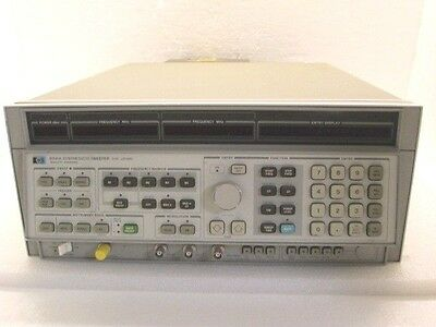 HP 8341A Synthesized Sweeper 0.01 - 20GHz with Options 002 004 TESTED
