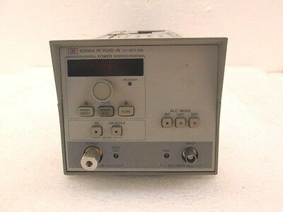 HP 83595A w/ Opt 002 RF Plug-In .01Ghz - 26.5GHz - Ships Today!  TESTED
