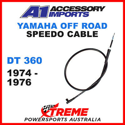 A1 Powerparts Yamaha DT360 DT 360 1974-1976 Speedo Cable 51-5Y1-50