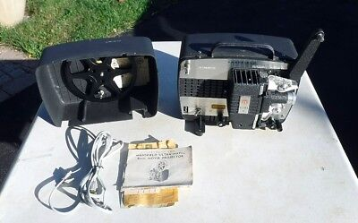 Vintage Mansfield Holiday Ultra 8 mm Movie Projector