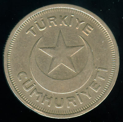 Scarce 1935 Turkey 10 Kurus