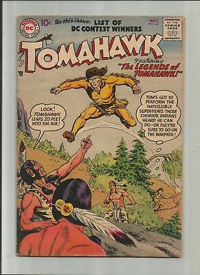 Tomahawk #48 From 1957 3.5-4.5 Free Comb Shipping