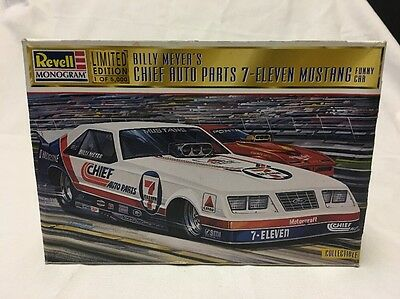 Revell 1/25 Billy Meyer's Chief Auto Parts 7-Eleven Funny Car -