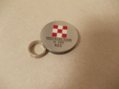 Pair Purina Chows Advertising Items. Key Ring & Money Clip. FREE SHIPPING IN USA
