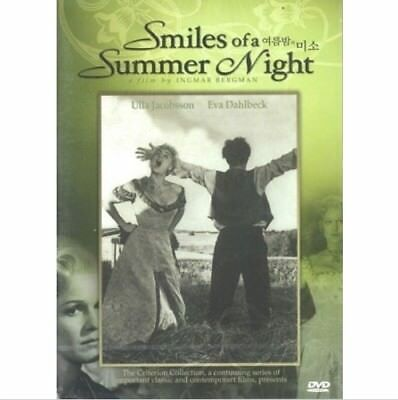Smiles Of A Summer Night (1955) DVD (New,Sealed) - Ingmar Bergman