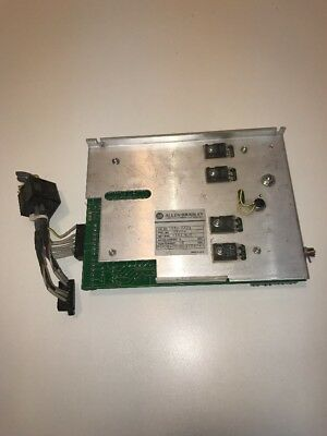 Used ALLEN-BRADLEY 1386-AA06 SERVO AMPLIFIER CARD
