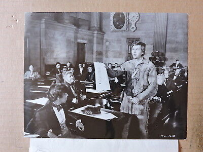 Fess Parker in Congress orig photo 1955 Davey Crockett King of the Wild Frontier