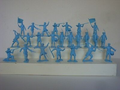Marx Heritage Revolutionary War / 2 Complete Sets of 12 54 mm Colonial Militia