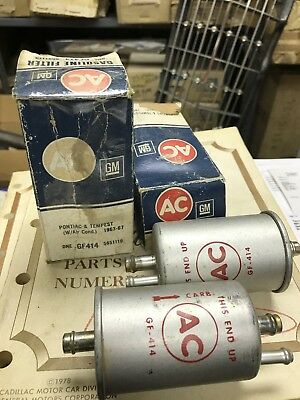 1963-1967 Pontiac And Tempest Fuel Filter NOS