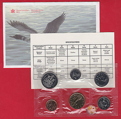 1994 - - PL Set- - Canada Proof Like Mint Set - With COA and Envelope  - SALE