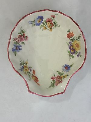 Vintage Crown Devon Shell Dish for Mints, Nuts, Soap or Trinkets Made in England