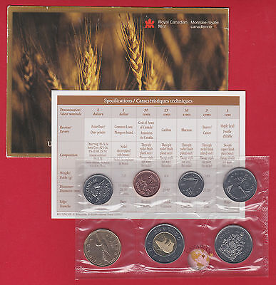 2004 - - PL Set- - Canada Proof Like Mint Set - With COA and Envelope