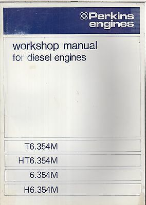 Perkins 6.354M T6.354M H6.354M Ht6.354M Marine Diesel Eng. Factory Repair Manual