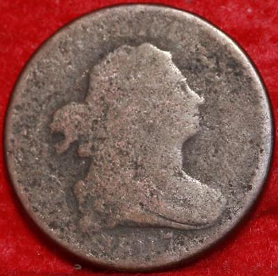 1807 Philadelphia Mint Copper Draped Bust Half Cent Free Shipping