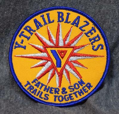 Y-Trail Blazers YMCA Father & Son Trails Together Embroidered Patch