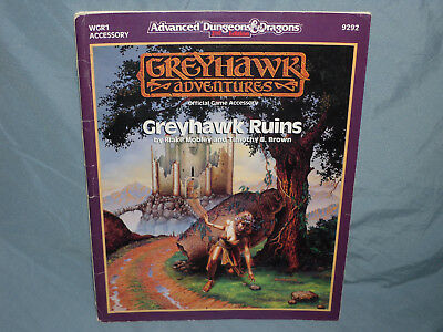 Advanced Dungeons & Dragons 2nd Ed Supermodule: WGR1 GREYHAWK RUINS (Very Rare!)