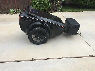 Bushtec motorcycle trailer