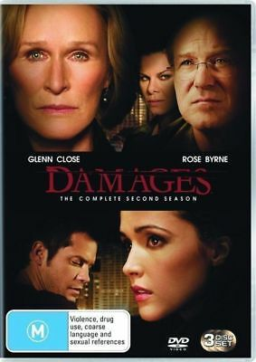Damages : Season 2 (DVD, 2009, 3-Disc Set)