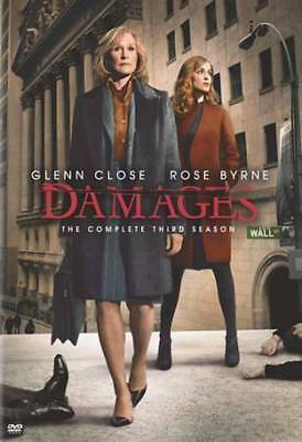 Damages : Season 3 (DVD, 2010, 3-Disc Set)