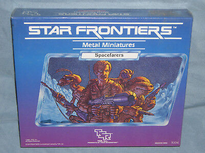 TSR's STAR FRONTIERS Miniature Box Set: SPACEFARERS (Rare in the SHRINK WRAP!!)