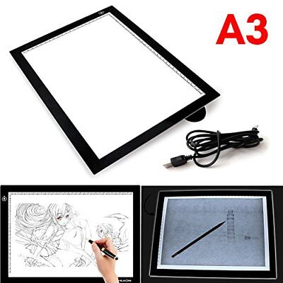USB LED Table Lumineuse Dessin A3 Portable Graphique Ultra-Plate Tracant Tablet