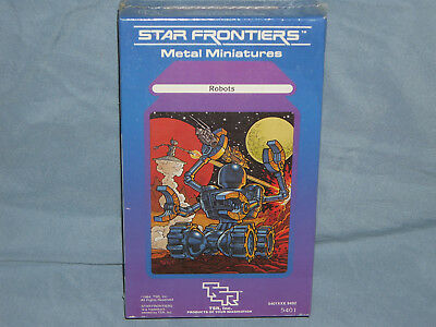 STAR FRONTIERS Miniature Box Set: ROBOTS  (EXTREMELY Rare & in the SHRINK WRAP!)