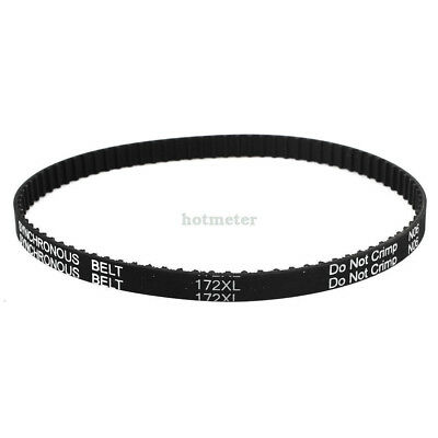 172XL 037 86Teeth Engine Black Rubber Timing Belt 5.08mm Pitch 9.5mm Width 436mm