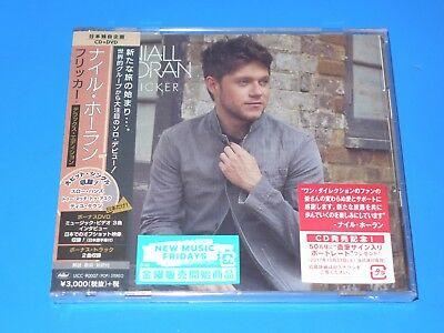 JAPAN DELUXE EDITION NIALL HORAN FLICKER CD+BONUS DVD w/2 BONUS TRACKS FOR JAPAN
