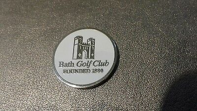 Bath Golf Club Ball Marker