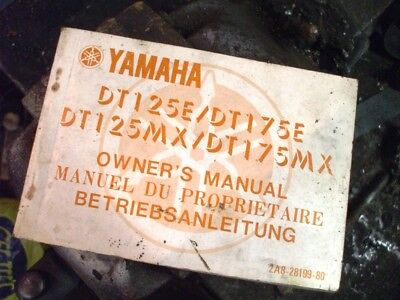Yamaha DT125 and DT175 Owners Manual