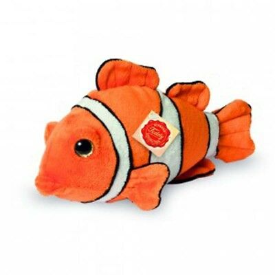 Clownfisch - 25 cm - 90108 - Hermann Teddy Collection - Plüschtier - Neu