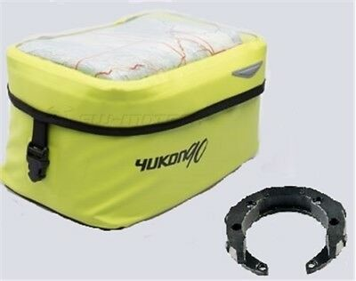 DUCATI M750 i.e Monster YR 01-03 Quick-Lock Yukon Yellow Motorcycle Tank Bag Set