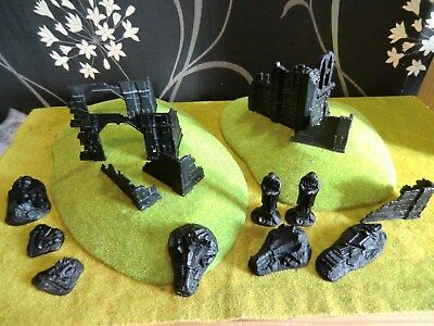 Warhammer Lotr - Scenery And Ruins