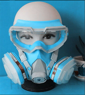 Facepiece Comfort Respirator Painting Spraying Mask
