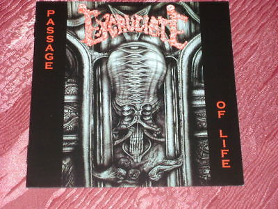 """Excruciate """"Passage Of Life"""" (1993) CD"""