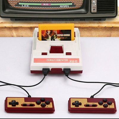 80s Home Retro Classic Game Console Family Famicom Console With 150 ENS Games CN