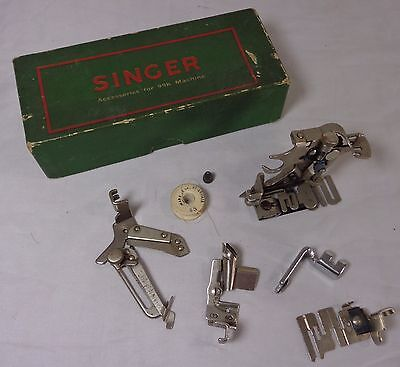 Vintage Box Of Singer Accessories for 99K Sewing Machine
