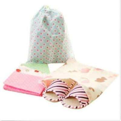 Travel Storage Container Thicken Printed Drawstring Dustproof Dust Cover Bags