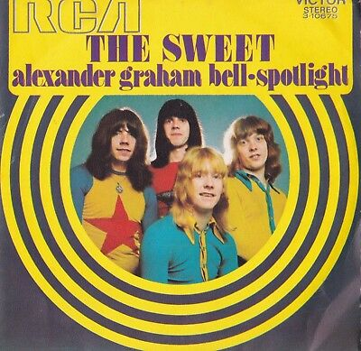 "The Sweet - Alexander Graham Bell Spanish Picture Sleeve 7"" Single"