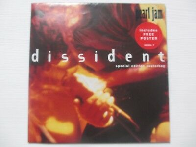 "Pearl Jam ‎– Dissident, Vinyl, 7"", Single, Special Edition, Posterbag"