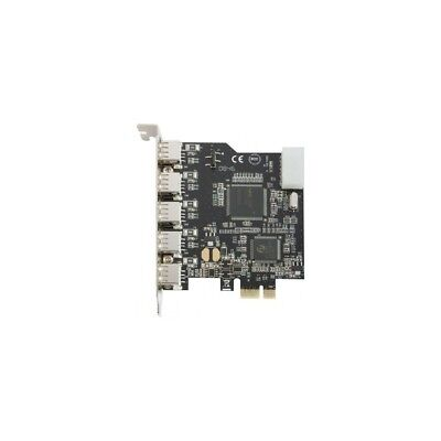 Dexlan Carte PCI-Express USB 2.0 - 5 ports ext + 1 port int